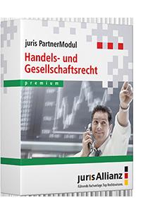 juris PartnerModul Handels- und Gesellschaftsrecht premium