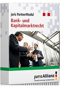 juris PartnerModul Bank- und Kapitalmarktrecht