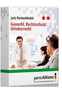 juris PartnerModul Gewerblicher Rechtsschutz/Urheberrecht