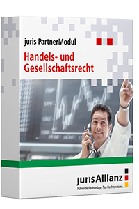 juris PartnerModul Handels- und Gesellschaftsrecht