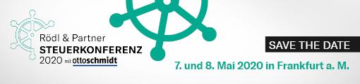 Rödl & Partner Steuerkonferenz 2020