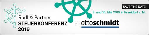 Rödl & Partner Steuerkonferenz 2019