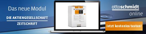 Banner_ Zeitschriften-Modul Die Aktiengesellschaft