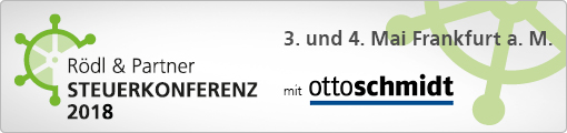 Rödl & Partner Steuerkonferenz 2018