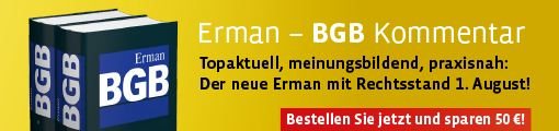 Erman, BGB. 15. Auflage 2017