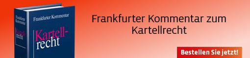 Frankfurter Kommentar zum Kartellrecht
