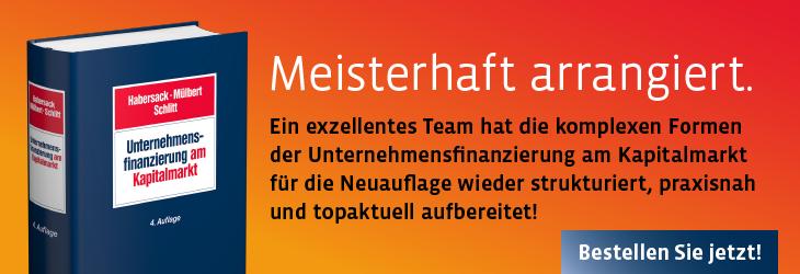 Habersack/Mülbert/Schlitt, Unternehmensfinanzierung am Kapitalmarkt