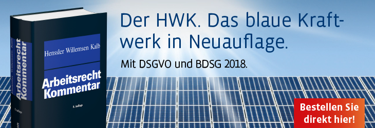 Henssler/Willemsen/Kalb, Arbeitsrecht Kommentar