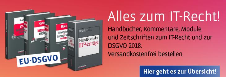 IT-Recht 2018