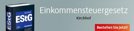 Banner: Kirchhof/Seer, Einkommensteuergesetz