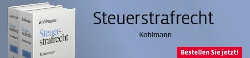 Kohlmann, Steuerstrafrecht Kommentar