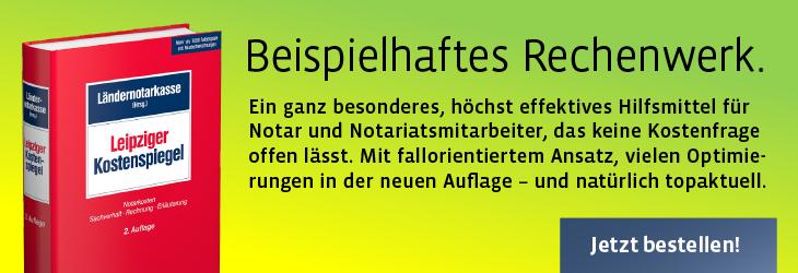 Banner Leipziger Kostenspiegel