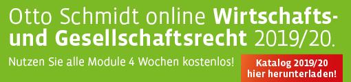 OSO Katalog Wirtschafts- und Gesellschaftsrecht 2019/2020