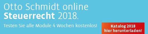 Otto Schmidt online Katalog Steuern