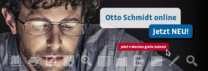 Otto Schmidt online. Jetzt neu!
