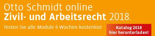 Otto Schmidt online Katalog Zivilrecht und Arbeitsrecht