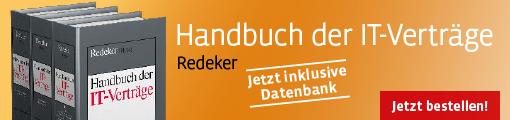 Redeker, Handbuch der IT-Verträge