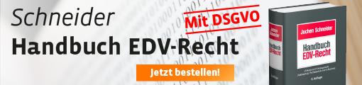 Banner: Schneider, Handbuch EDV-Recht