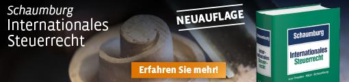 Schaumburg,  Internationales Steuerrecht