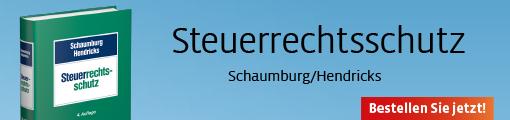 Banner: Steuerrechtsschutz