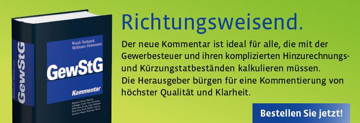 Wendt/Suchanek/Möllmann/Heinemann, Gewerbesteuergesetz