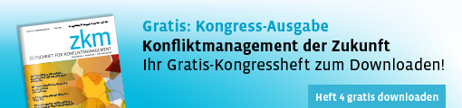 ZKM 4 - Kongressheft zum Thema Konfliktmanagement der Zukunft