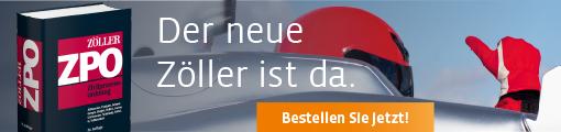 Zöller; Zivilprozessordnung. 32. neu bearbeitete Auflage, 2018