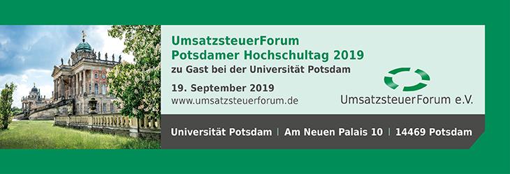 UmsatzsteuerForum 2019