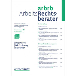 Arbeits Rechtsberater Verlag Dr Otto Schmidt
