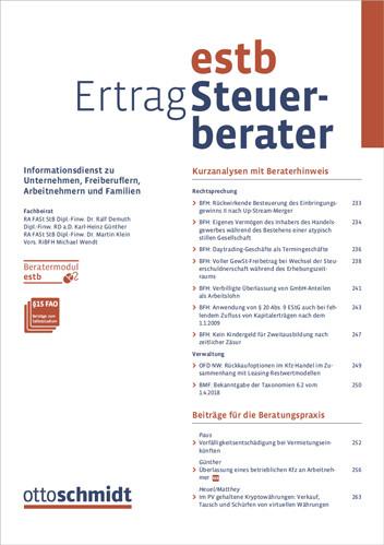 Ertrag-Steuerberater - EStB (Probeabo)