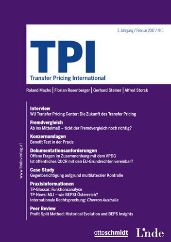TPI - Transfer Pricing International (Probeabo)