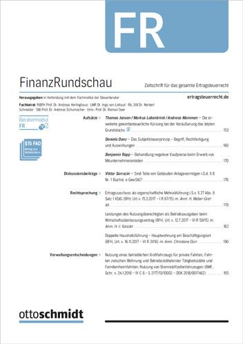 FinanzRundschau - FR (Schnupperabo)