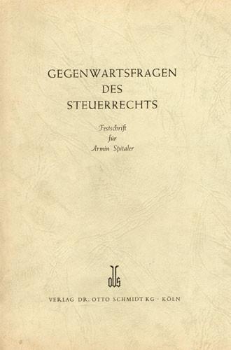 Festschrift für Armin Spitaler
