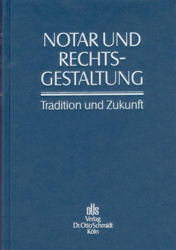 Festschrift des Rheinischen Notariats