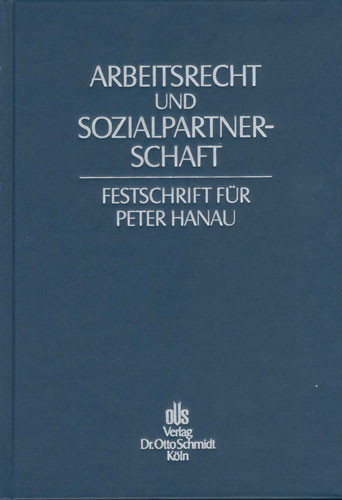Festschrift für Peter Hanau