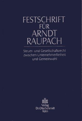 Festschrift für Arndt Raupach