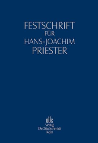 Festschrift für Hans-Joachim Priester