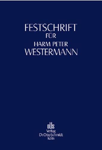 Festschrift für Harm Peter Westermann