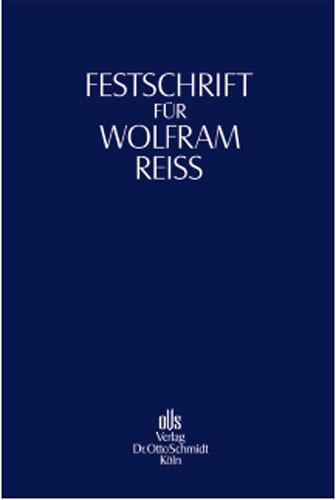Festschrift für Wolfram Reiß