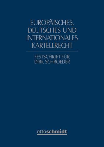Europäisches, deutsches und internationales Kartellrecht