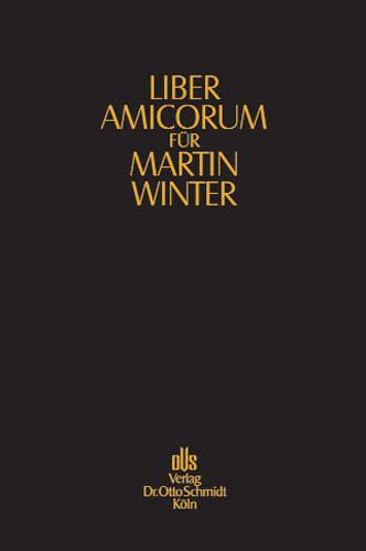 Liber amicorum für Martin Winter