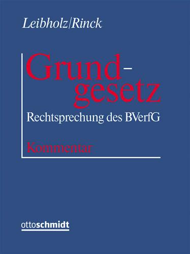 Grundgesetz (Grundwerk mit Fortsetzungsbezug für mindestens 2 Jahre)