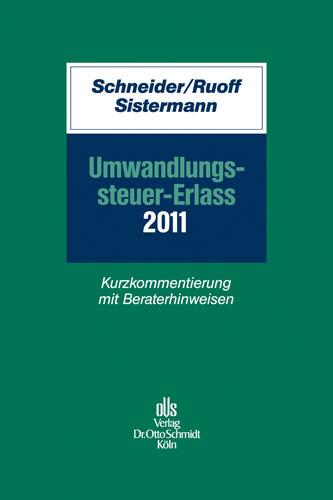 Umwandlungssteuer-Erlass 2011