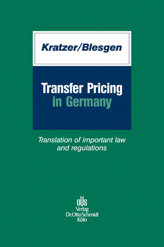 Transfer Pricing in Germany