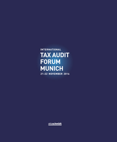 International Tax Audit Forum Munich 2016
