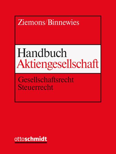 Handbuch Aktiengesellschaft (Grundwerk mit Fortsetzungsbezug für mindestens 2 Jahre)