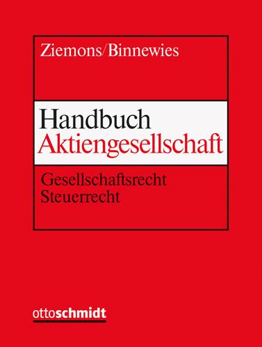 Handbuch Aktiengesellschaft (Grundwerk ohne Fortsetzungsbezug)