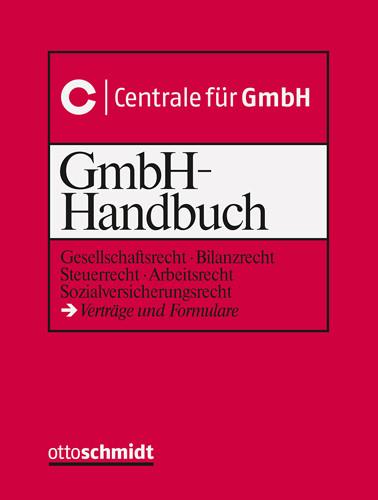 GmbH-Handbuch (Grundwerk ohne Fortsetzungsbezug)