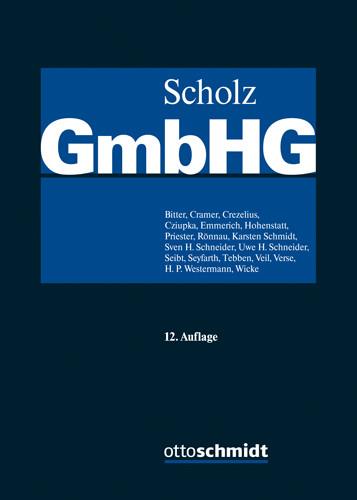 GmbH-Gesetz, Bände I-III