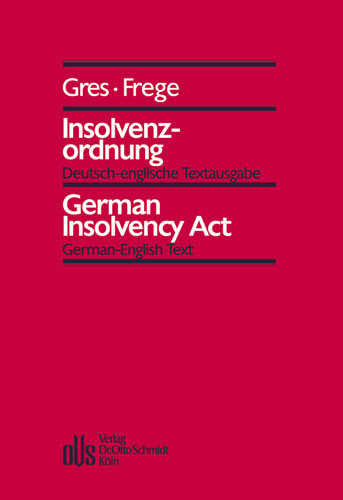 Insolvenzordnung - German Insolvency Act